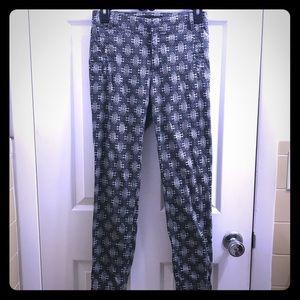 EUC Patterned Zara Basic trousers